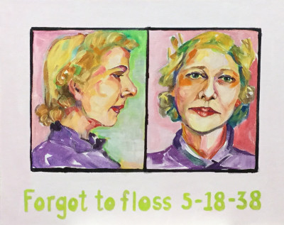 Forgot to floss 5-18-38