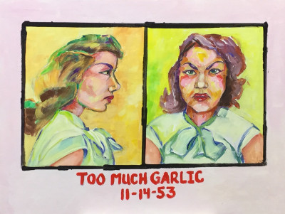 Too much garlic 11-14-53