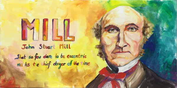 John Stuart Mill: 'That so few dare to be eccentric marks the chief danger of the time'