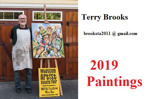 Terry Brooks art, paintings of Bellingham WA